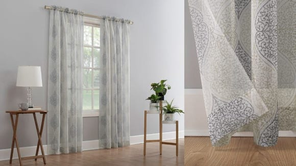 Finally, curtains that are pretty and affordable!