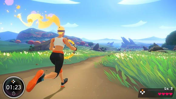 Ring Fit Adventure is Wii Sports' spiritual successor, offering a corny story to hopefully distract you from the grueling workouts this game will put you through. It's a perfect introduction to a high intensity exercise routine.