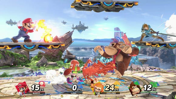 Super Smash Bros. Ultimate has every character ever introduced into a Smash Brothers game, plus a ton of new ones to mess around with and play with your pals.