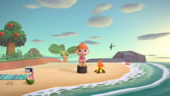 Animal Crossing: New Horizons is the perfect game to start a second life on a quiet island, where you can invite your friends over to craft, run around and stargaze.