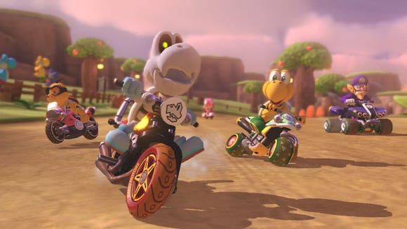 Mario Kart 8 Deluxe is the kind of whacky, hectic game that can provide endless hours of fun for everyone.
