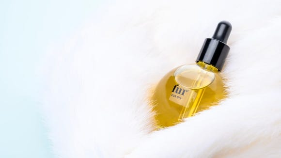 This special oil helps to soften the hair down there.