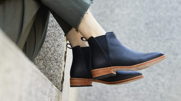 Chelsea boots are perfect for your capsule wardrobe.