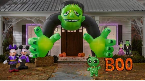 Just because you're not trick or treating doesn't mean you can't decorate!