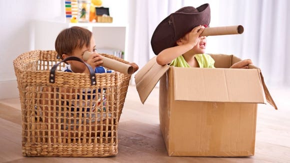 Set up an exciting scavenger hunt for your little ones.