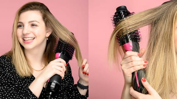 You'll forget about your regular hair dryer once you try the Revlon One-Step Hair Dryer and Volumizer.