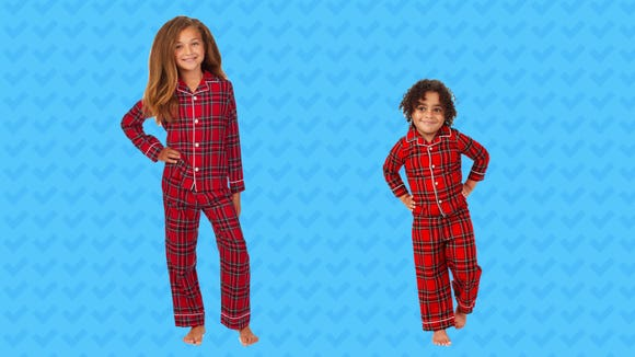Deck the halls with matching outfits.