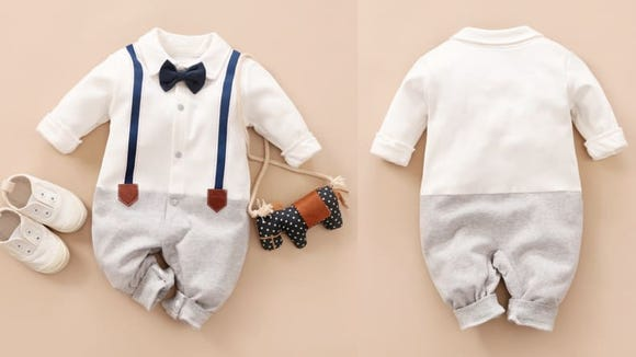 Showcase your dapper baby for the holidays.