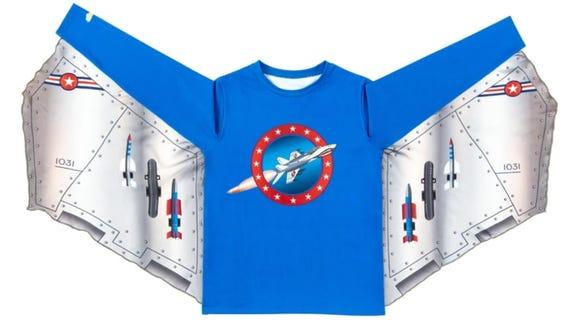 It's a shark, it's a t-shirt, it's a super shirt.