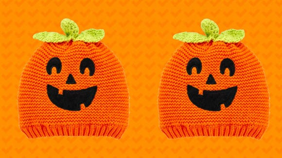 This will be the cutest pumpkin you see on Halloween.