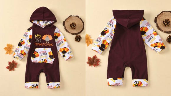 This onesie is perfect for Thanksgiving.