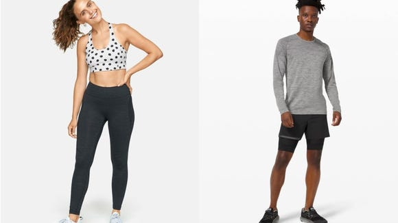 If you're looking for new clothes to sweat in, you have a few options.