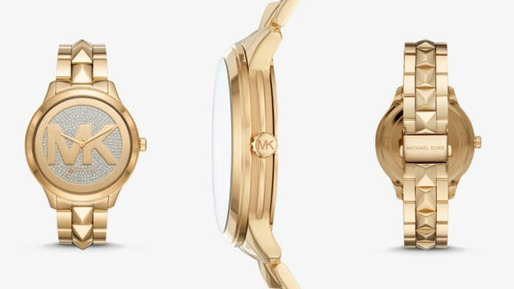A watch made for the runway or the subway.