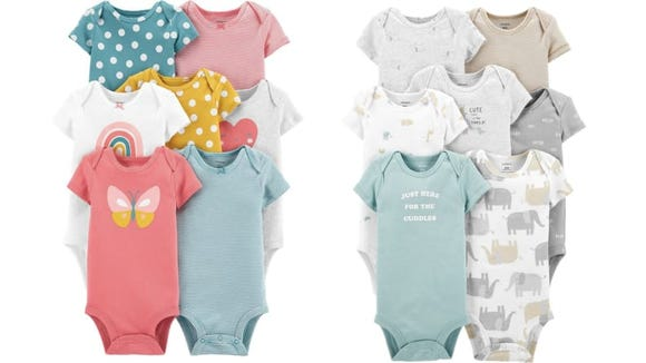 No matter how much baby stuff someone might have, they can never have too many bodysuits