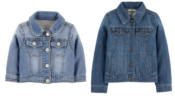 For extra cuteness, considering giving matching denim jackets to the whole family.