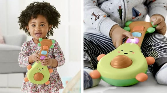 Avocados have always made great baby food, but how about baby bops?