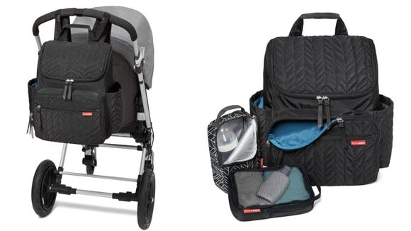 Who knew a diaper bag could be this compact and stylish?
