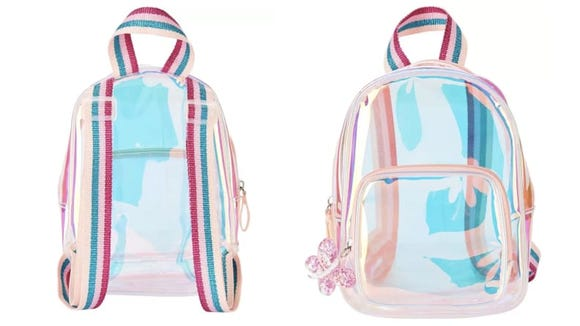This backpack is so cool I'm tempted to buy it for myself as an ultra-tiny mini backpack.