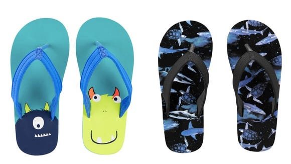 six flip flops