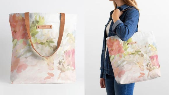This pretty bag comes in a wide variety of prints.