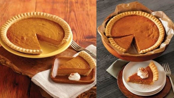 A Thanksgiving dinner without pumpkin pie is sacrilegious.