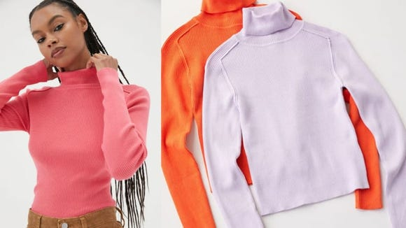 This classic turtleneck comes in a rainbow of colors.