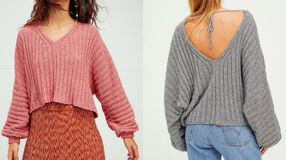 This V-neck sweater is effortlessly cool.