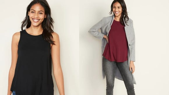 Who says a tank top can't work for winter?