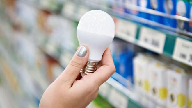 Using energy-efficient LED bulbs reduces your electric bill.