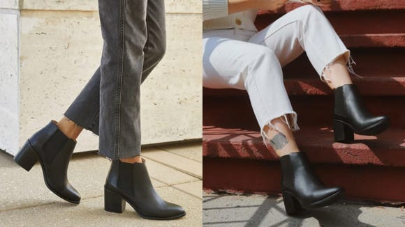 Best gifts for wives 2020: Nisolo Heeled Chelsea Boot.