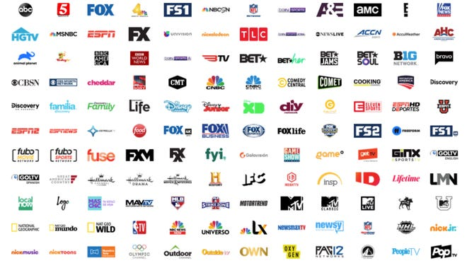 You can stream a number of networks on fuboTV.