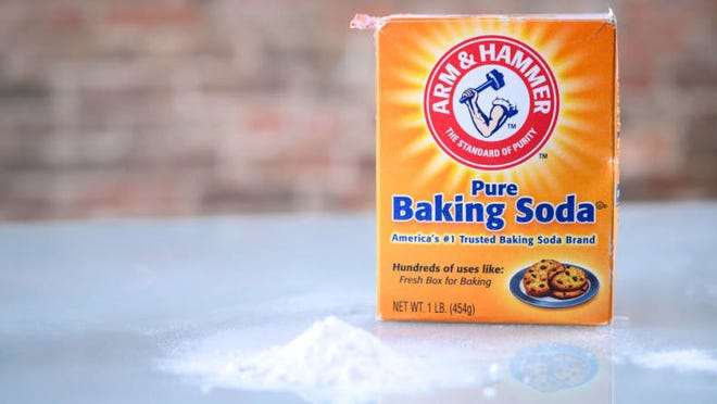 While many over-the-counter whitening products include baking soda, the ingredient is too harsh to apply directly on teeth.