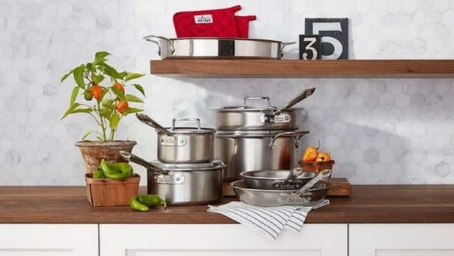 Need a new set of pots and pans? All-Clad cookware is majorly discounted at Macy's right now.