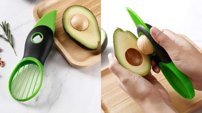 Peel or cut your avocados effortlessly.