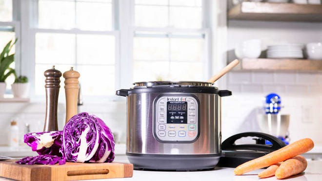 The Instant Pot makes weeknight meals quick and easy.