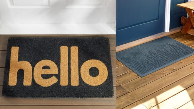 Pick a doormat that fits your personality!