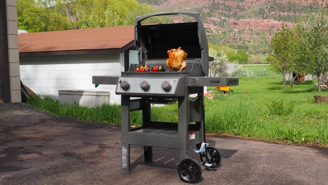 Get your BBQ on during the summer with our top-rated gas grill.