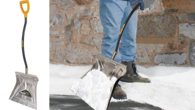 Make sure you get a real snow shovel before the next storm arrives.