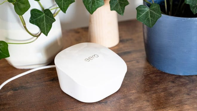 A mesh Wi-Fi system will ensure strong internet connection throughout your home.