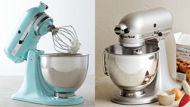 No kitchen is complete without a KitchenAid stand mixer.