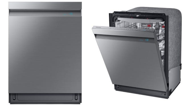Not just a pretty face: this dishwasher eliminates practically all dish stains.