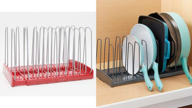 At long last, a solution to messy cabinets.