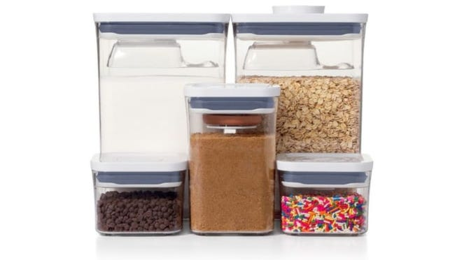 Turn your pantry into something The Home Edit would approve of with these OXO containers.