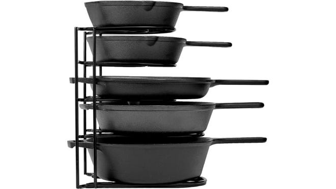 Storing pans has never looked better.