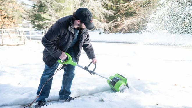 The Greenworks Corded Snow Shovel is our pick for the best electric snow shovel.