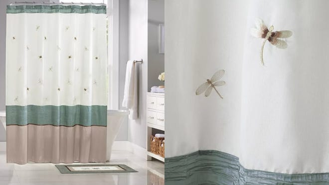 Signal a season change with a new shower curtain.