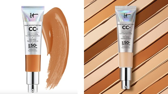 The It Cosmetics CC+ Cream with SPF 50+ is one of the brand's most sought after products.