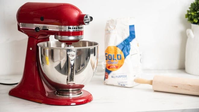 You can never go wrong with a KitchenAid stand mixer.