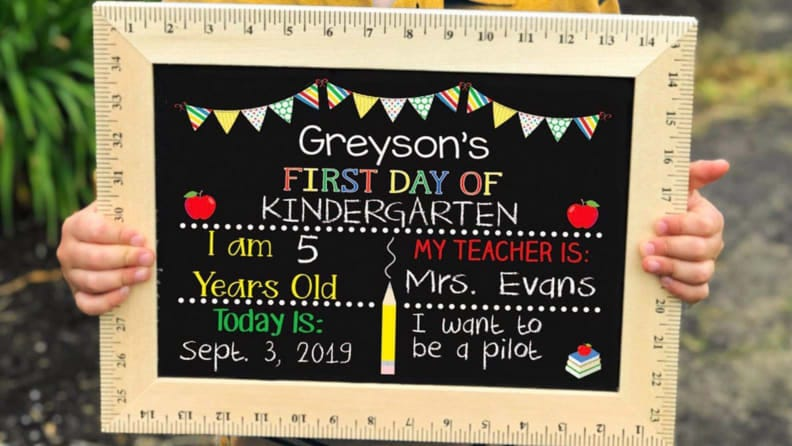Apples, chalkboards, and rulers--oh my!