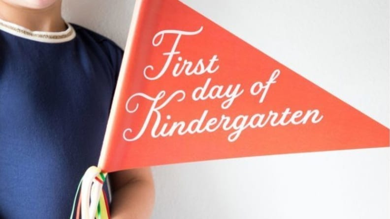 These colorful pennants are good for any grade level.